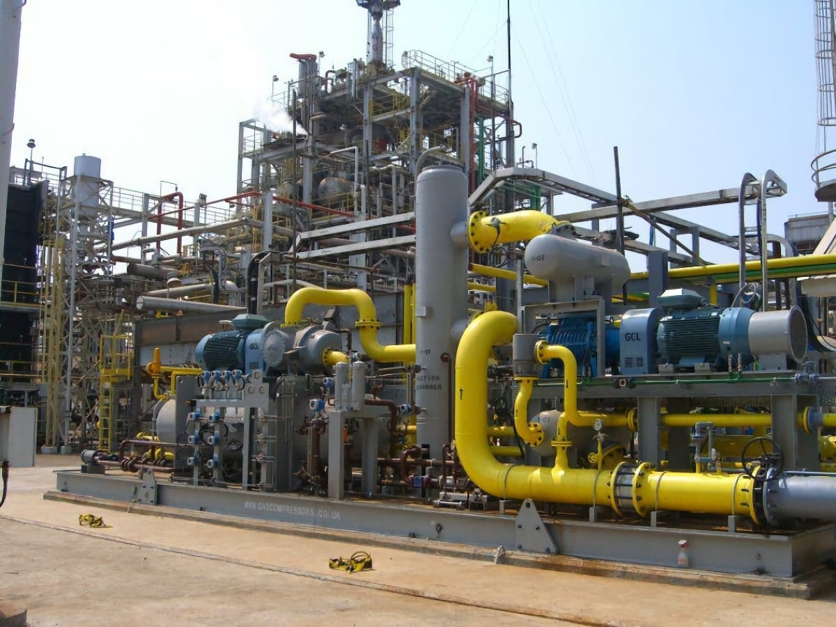 Fuel Gas Booster to Burners (Impure pipeline natural gas) P069
