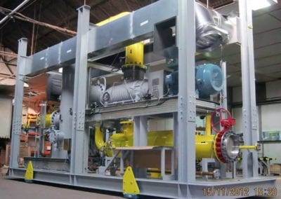 Low Pressure Recycle Gas Blower, Rosneft, Achinsk, Russia