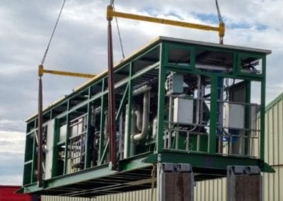 Biogas Compression and CO2 Removal, London, UK