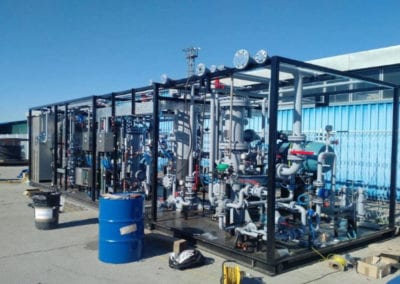Gas Recycle and Gas Lift Package for INA, Molve, Croatia