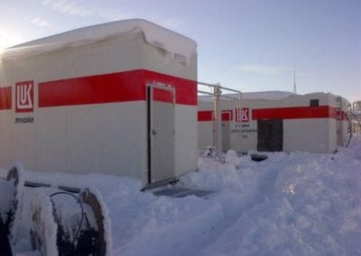 Small Fuel Gas Boosters to Micro Gas Turbines for Lukoil, Chaykovskiy, Russia