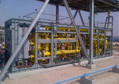 Fuel Gas Compression and Treatment Packages for South Oil Co., Rumaila, Iraq