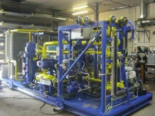 Fuel Gas Compressor Package for Coastal Energy, Offshore Thailand