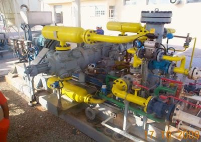 Associated Gas from Crude Oil at Gas Processing Facility for INA Group, Croatia