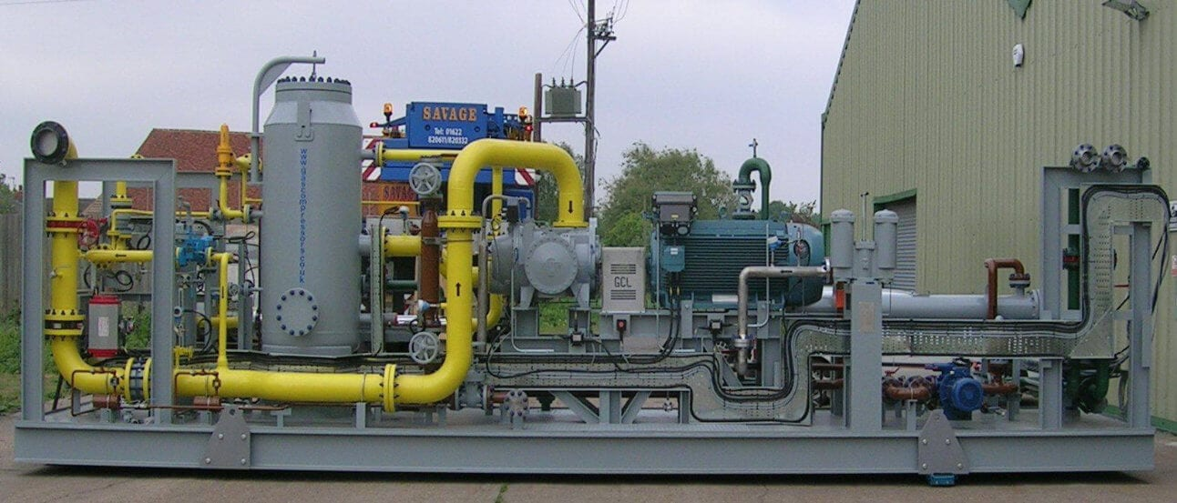 Fuel Gas Booster to Rolls Royce Gas Turbine for Laing O Rourke plc P072