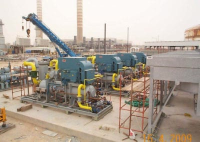 Fuel Gas Boosters to 4 off GE Frame 7 Gas Turbines for Government of Kuwait