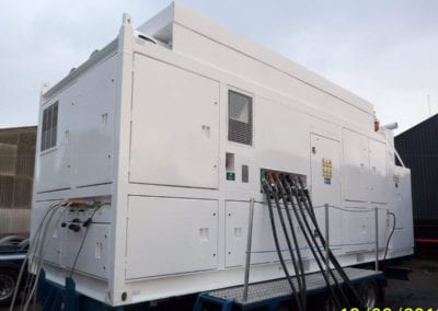 Mobile Compressor for Degassing Natural Gas Pipelines in Europe