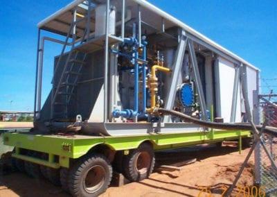 Mobile Compressor for Re-Starting Flooded Gas Wells for PT Vico, Badak, East Kalimantan, Indonesia