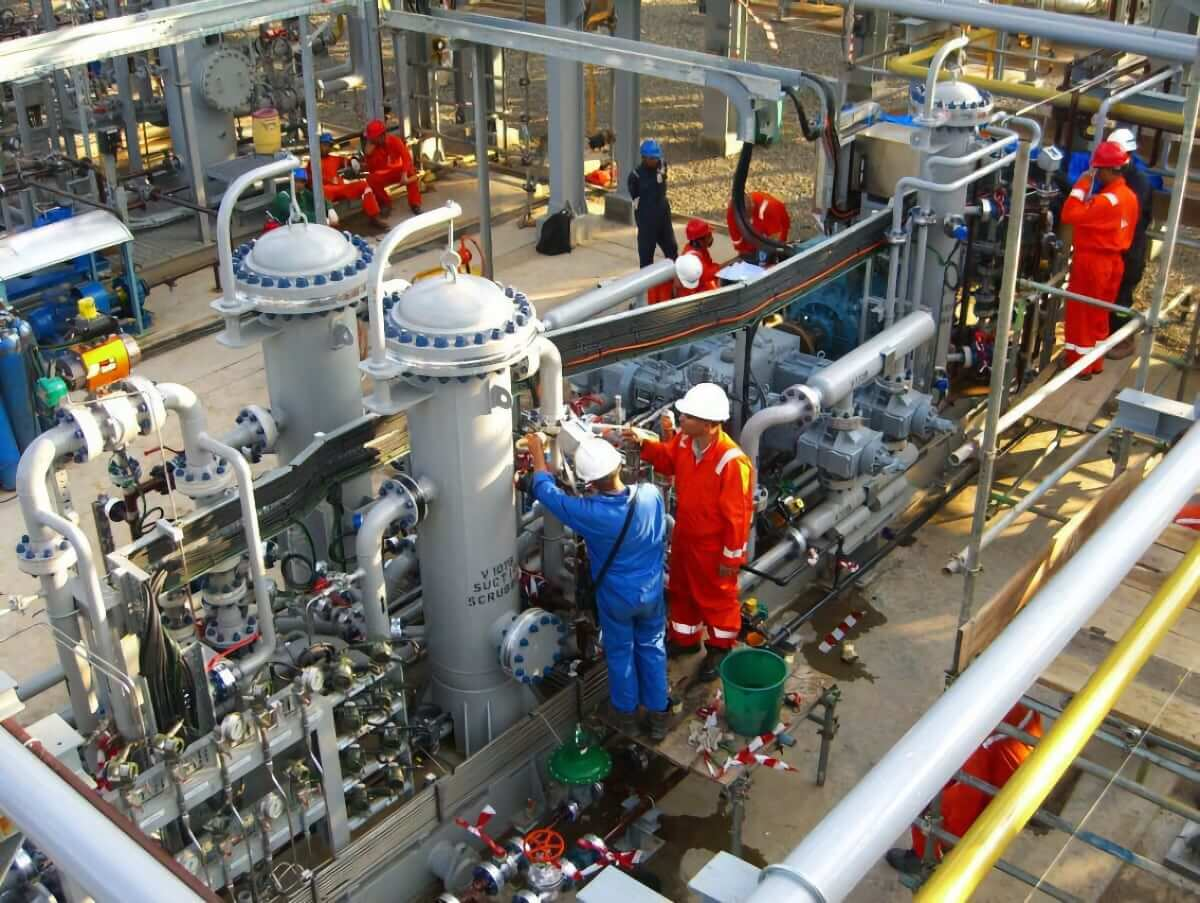 P070 Wellhead Gas at Gas Processing Plant for Heavy Hydrocarbon Gas for Salamander Energy plc